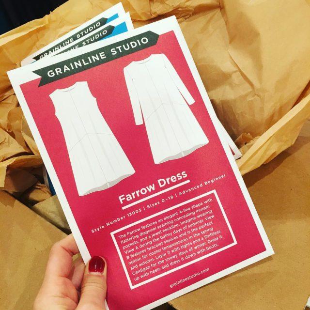 Its back! farrowdress stitcheveryday handmadelife homemadewardrobe
