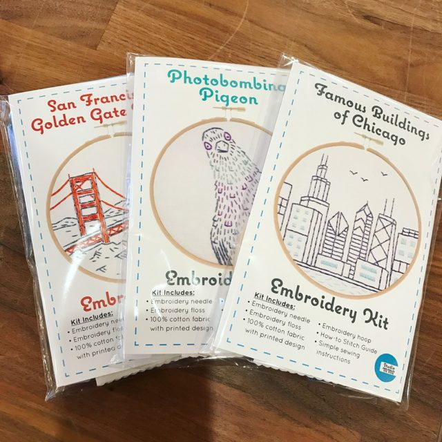 New kits from studiomme have arrived! stitcheveryday2017 handmadelifestyle makeclothesnotwar