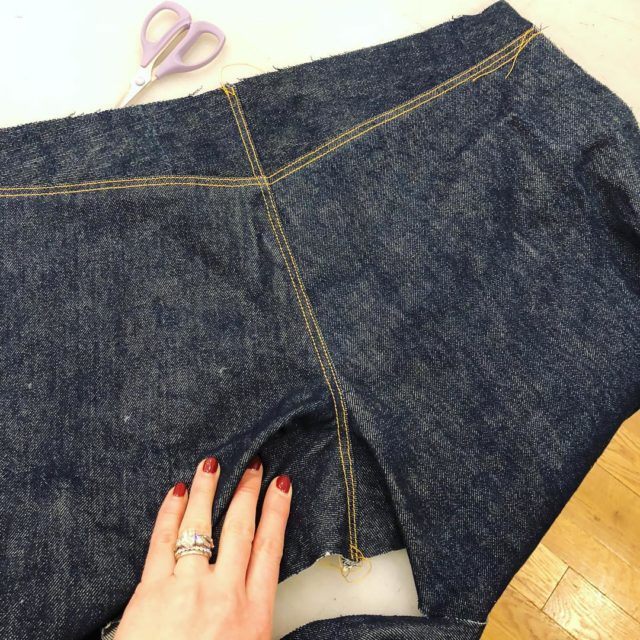Jeans class  top stitch time julienorcross is killing ithellip
